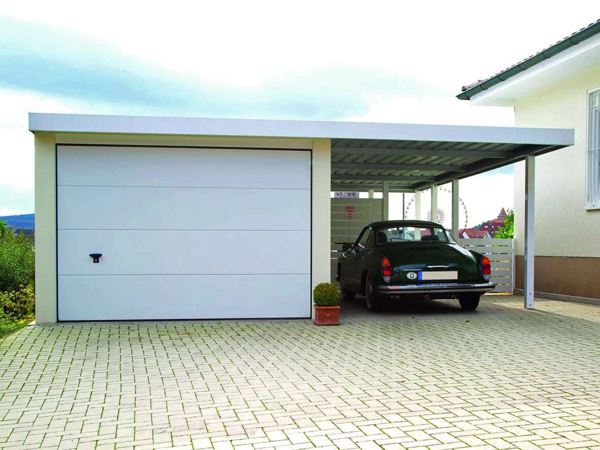 Garage überbauen